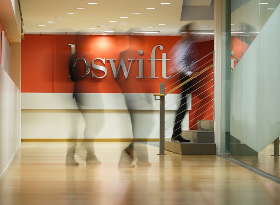 bswift Chicago office lobby