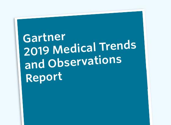 Gartner 2019 Medical Trends and Observations Report