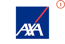 AXA Logo with Integrations Icon