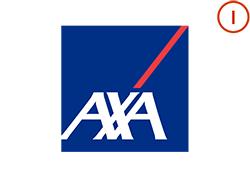 AXA Logo with Integrations Icon