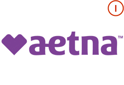 Aetna Logo with Integrations Icon