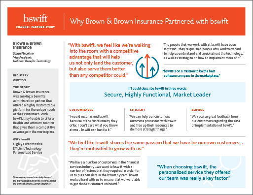 Brown & Brown Insurance Channel Partner Story