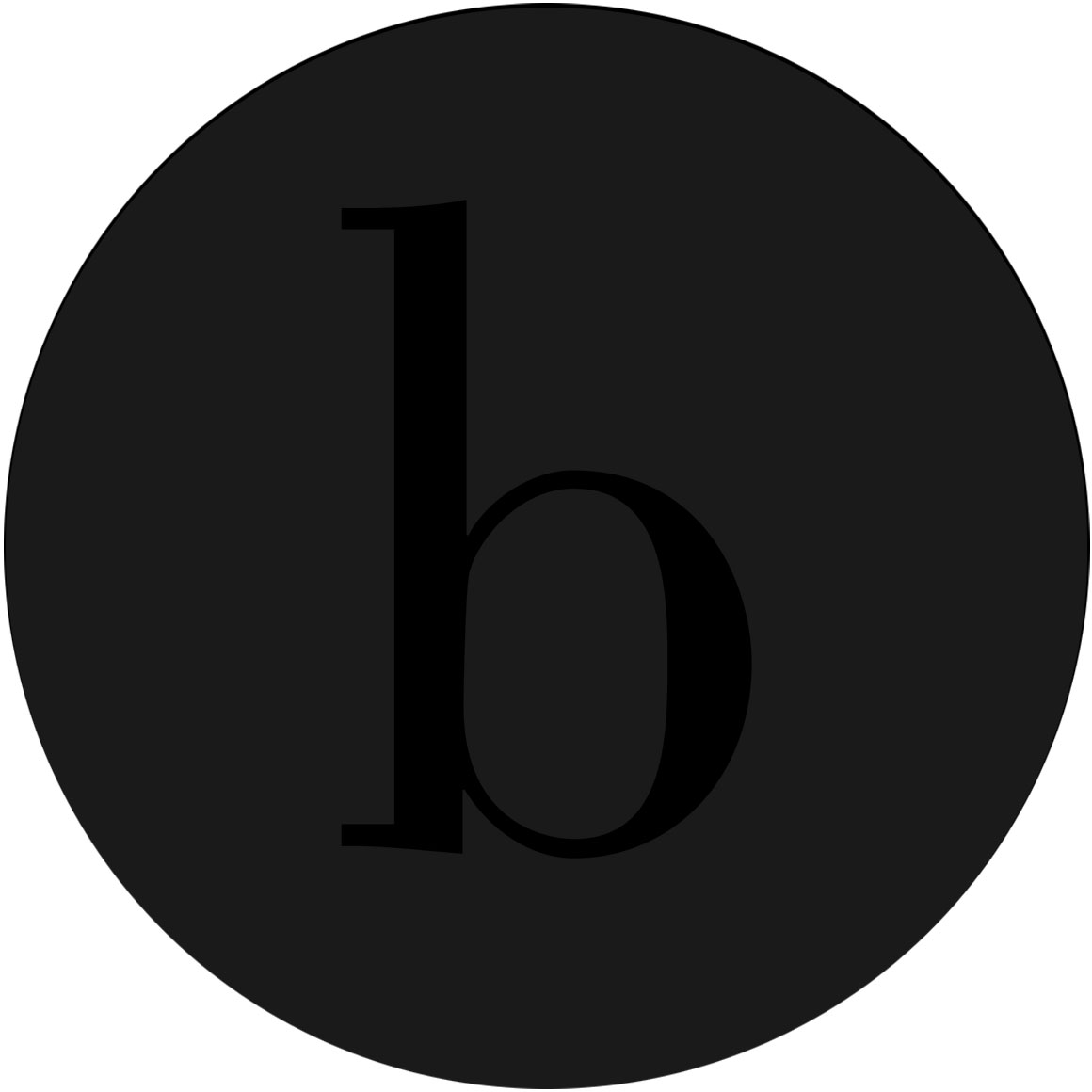 black bswift circle b logo