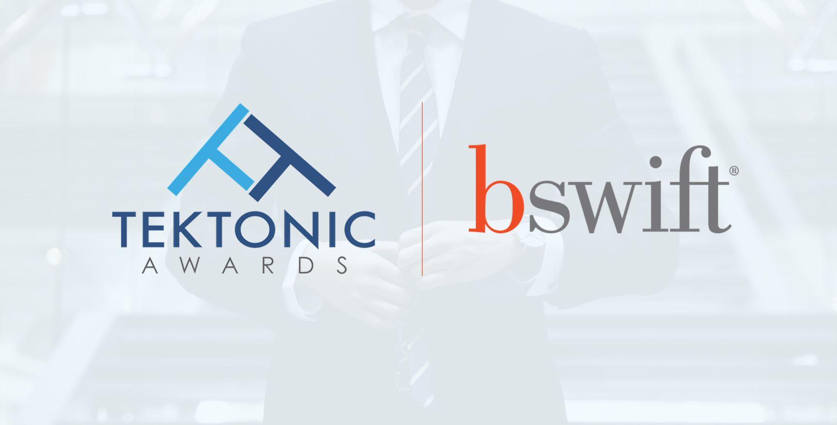 Tektonic Award Logo and bswift Logo