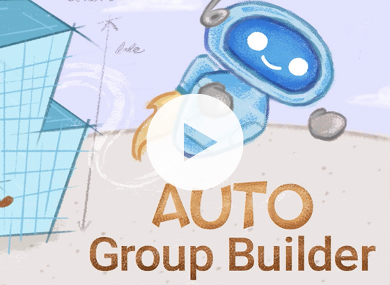 Auto Group Builder Video