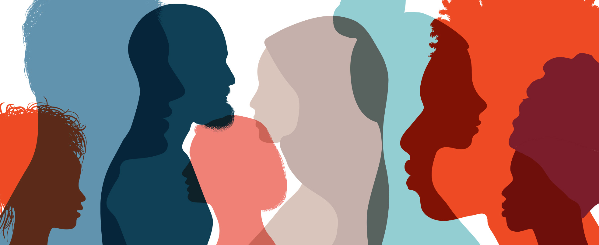 Profiles of a diverse group of people