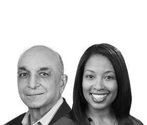 Sanjiv Anand and Carla Pollard Stewart