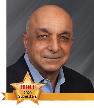 Sanjiv Anand with HRO Today Superstar Award Logo