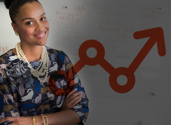 Woman happy with implementation and launch process
