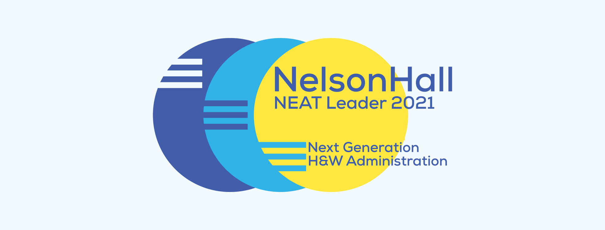 NelsonHall NEAT Leader 2021 - Next Generation H&W Administration Logo