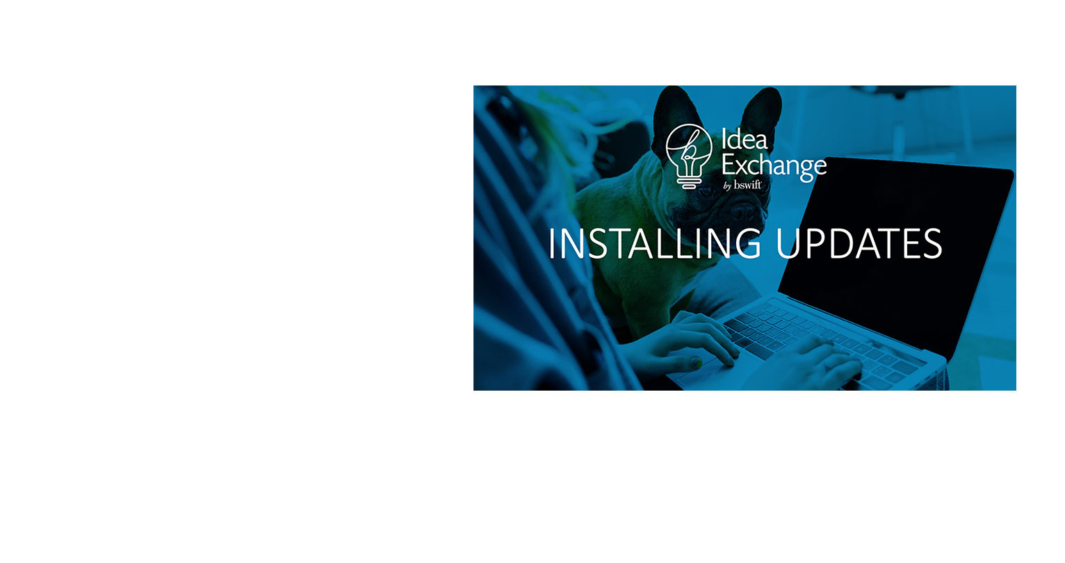 Cover of Installing Updates PPT Deck