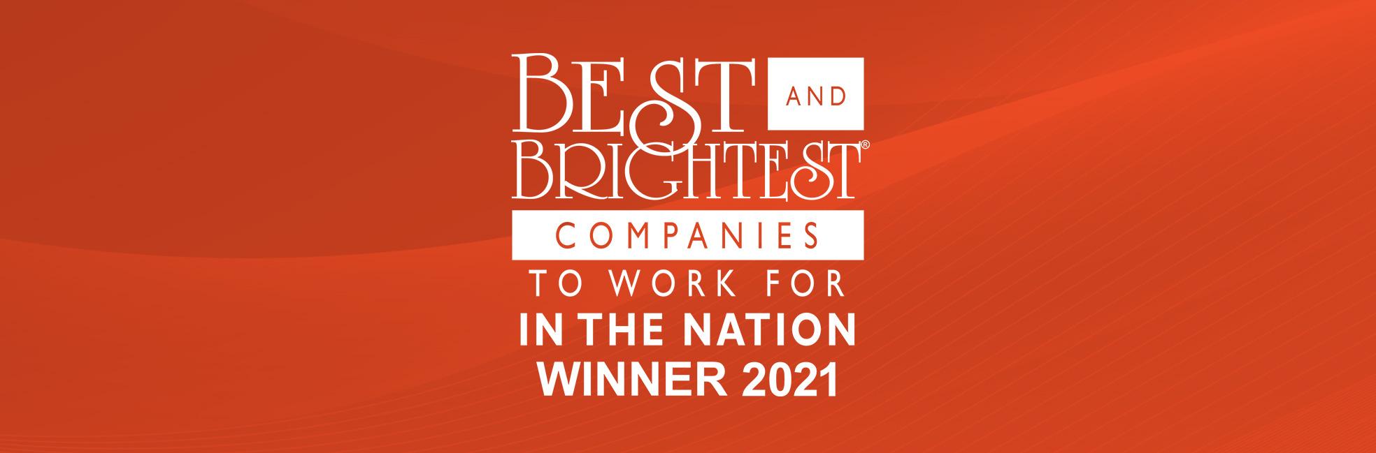 Best and Brightest 2021 Winner Logo