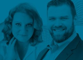 Melissa Brown and Matt Anderle